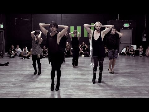"Brian Friedman & Yanis Marshall Heels Choreography | Britney Spears ""Breathe On Me"""