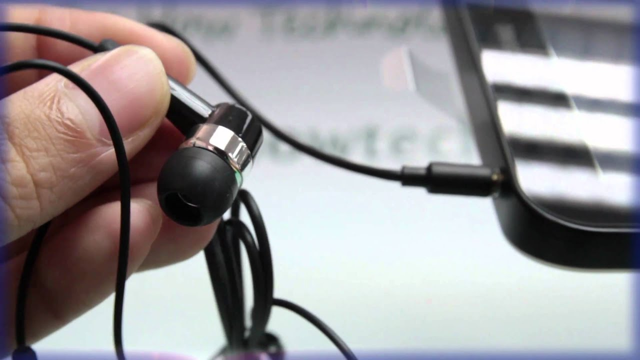 Samsung Galaxy Tab Plugging In The Headset Youtube
