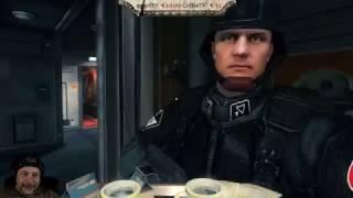 Lustige Kaffeerunde in Wolfenstein