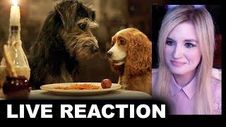 Lady & The Tramp Trailer REACTION