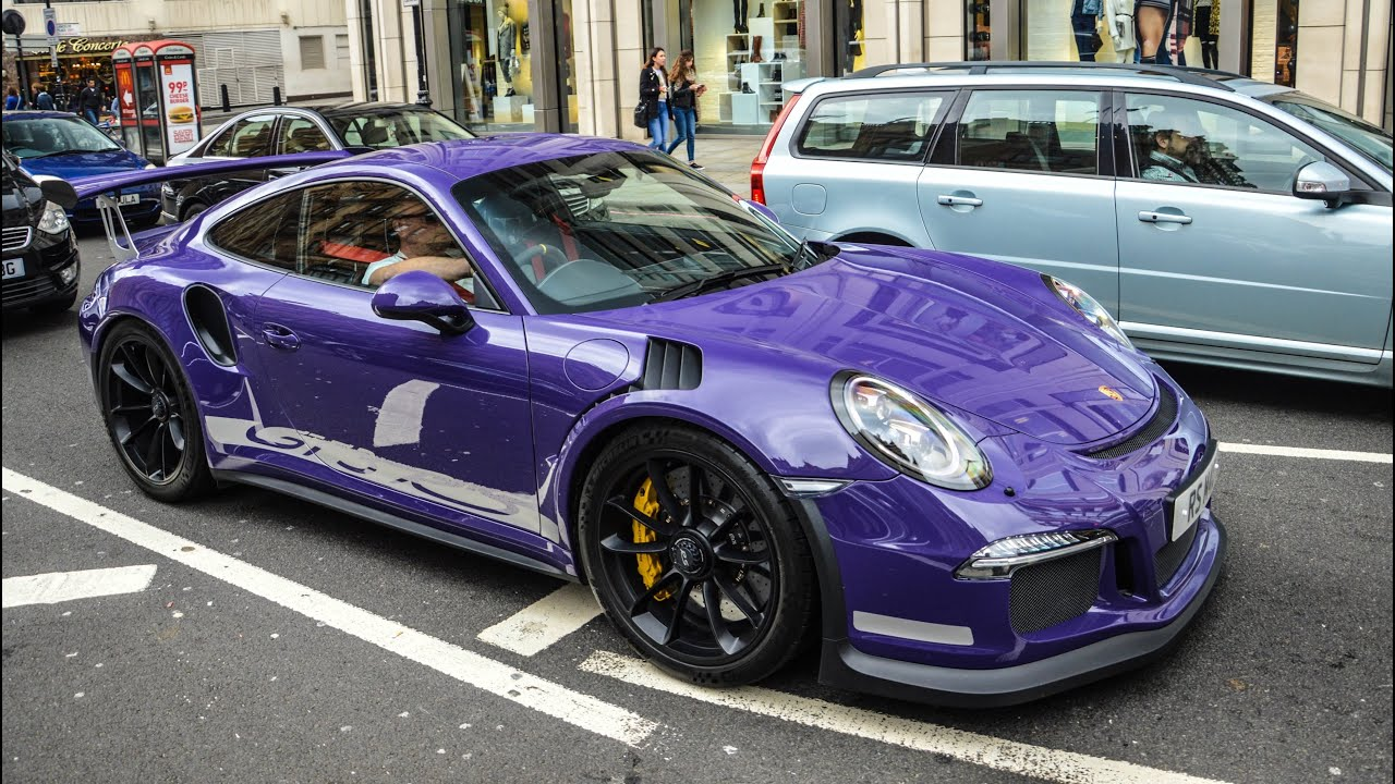 Porsche 991 Gt3 Rs All Colours Start Ups And Revs Youtube