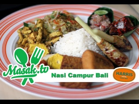 Nasi Campur Bali Feat. Chef Mangku