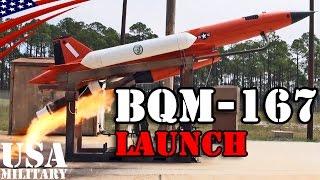 無人標的機 BQM-167スキーター 発射 - BQM-167 Skeeter Target Drone Launch - Subscale Aerial Target