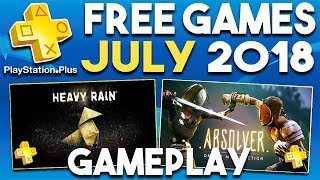 PlayStation Plus FREE Games JULY 2018 Gameplay Montage (PS Plus Games 2018)