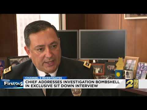 Chief addresses investigation bombshell in exclusive sit-down interview