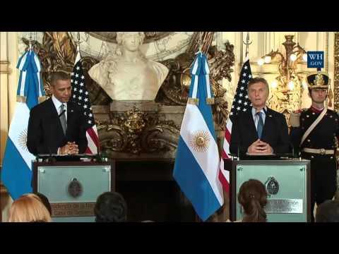 Obama & Macri press conference in Argentina 3 23 2016