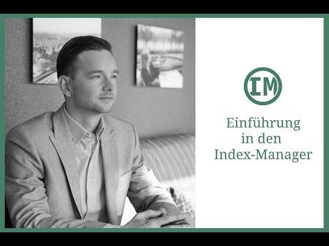 LAST MINUTE: Einführungsvideo zum Index-Manager