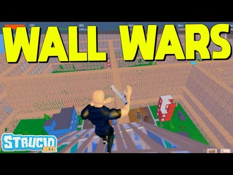 WALL WARS Gamemode In Strucid... (i clutched)