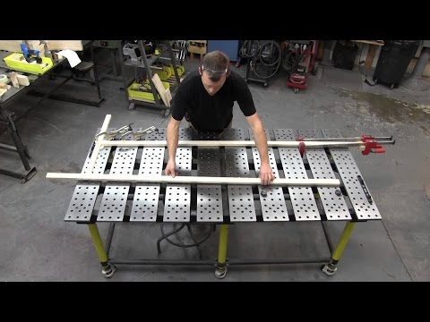 Welding Table DIY. How to Make a Welding Table. Welding Table Build. Welding Table Ideas. ♦DIY CAM♦