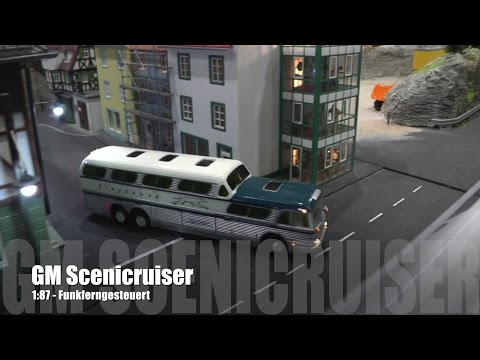 1:87 RC - GM PD-4501 Scenicruiser Greyhound - Funkferngesteuert / Radio Control