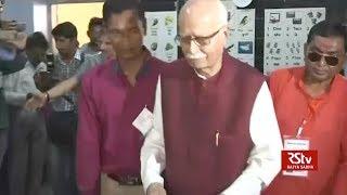 Political leaders cast vote | Phase 03 Lok Sabha polls 2019