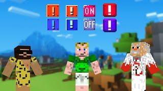 AN, AUS, AN, AUS, ECHT MACHT EINEN WAHNSINNIG | Minecraft Adventure Map