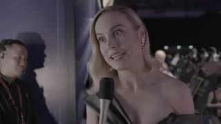 Captain Marvel - Singapore Open World Tour Fan Event - Itw Brie Larson (official video)
