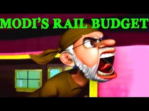 So Sorry: Modi's Rail Budget