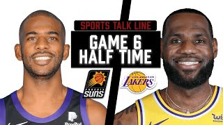 Suns Vs Lakers HIGHLIGHTS Halftime   Game 6 NBA Playoffs June 3