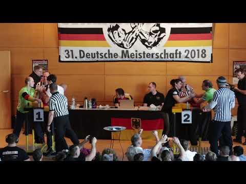 Deutsche Meisterschaft 2018 //   Männer -70kg Links // Frauen Offen Links