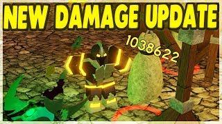 *NEW* WARRIOR DAMAGE & MAGE BUFF UPDATE   Roblox: Dungeon Quest