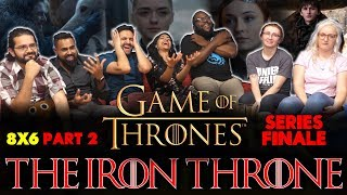 Game Of Thrones - 8x6 The Iron Throne [Part 2] - Group Reaction