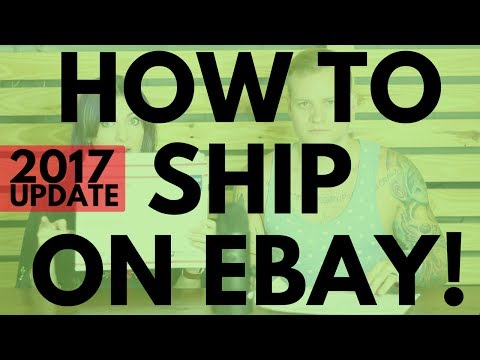 The Best Ways To Ship On eBay - 2017 UPDATE - Shipping Tutorial | RALLI ROOTS