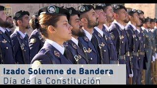 Izado Solemne de Bandera, Día de la Constitución