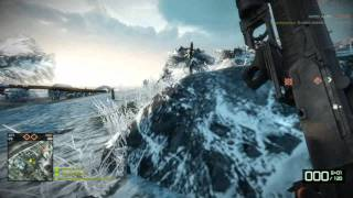 Battlefield Bad Company 2 Multiplayer Gameplay Port Valdez AMD 6870 1GB GDDR5