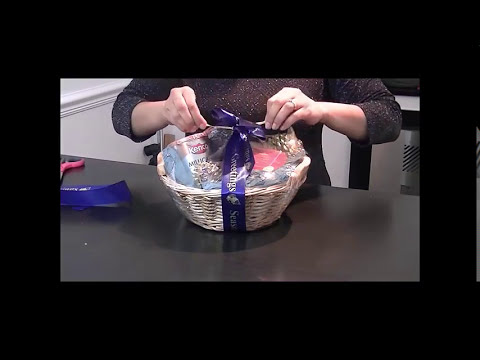 HOW TO MAKE A SHRINK WRAP HAMPER BY NEELAM MEETCHA