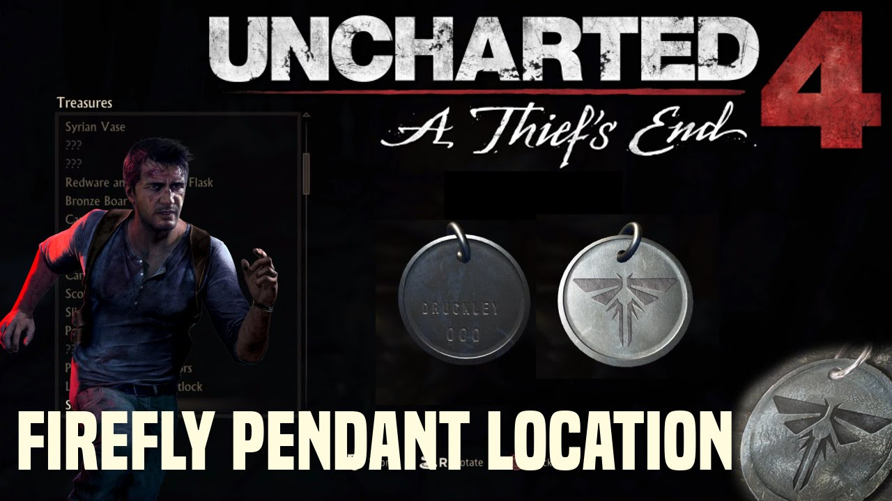 Uncharted 4 a thiefs end last of us easter egg firefly pendant uncharted 4 a thiefs end last of us easter egg firefly pendant mozeypictures Images