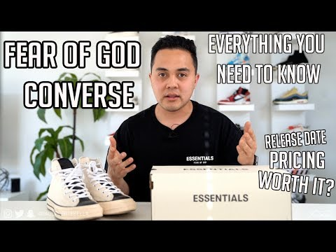 Fear of God x Converse Worth it? Review + Release Info