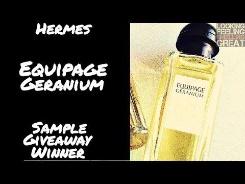 Winner Hermes Sample Hermes Equipage Geranium 5ARj4L