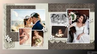 Свадебное слайд шоу от студии 24slide.ru