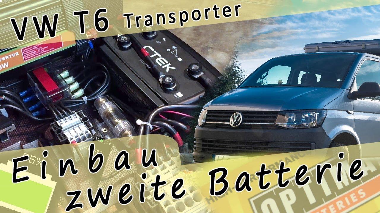 Batterie-POWER-Kabel 50mm² ROT T5 Facelift GP VW Bus