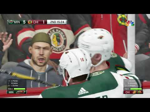 NHL 18 Minnesota Wild Franchise Game 3 - Killing the Competition