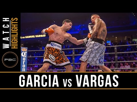 Garcia vs Vargas HIGHLIGHTS: November 12, 2016 - PBC on Spike