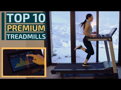 Top 10: Best Premium Treadmills for 2020 / Running Machine for Walking, Running, Jogging, Cardio