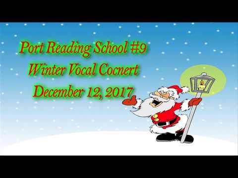 Port Reading School #9 Winter Vocal Concert