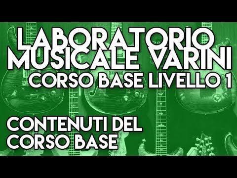 contenuti del corso BASE per chitarra del Laboratorio Musicale Varini - Massimo Varini