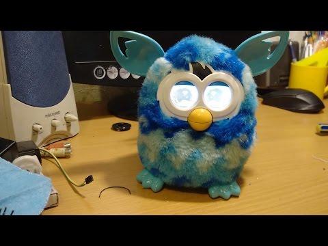 Разборка, ремонт, сборка Фёрби Бум Repair Furby Boom