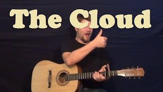 The Cloud (Wale) Easy Guitar Lesson How to Play The Cloud Tutorial