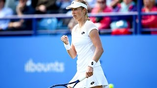 2016 Aegon International First Round | Ekaterina Makarova vs Tara Moore | WTA Highlights