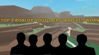 Top 5 Roblox YouTubers Who Have Sworn ( Ant, Poke,PrestonPlayz )