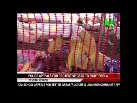 Ghana Police Appeal For Ebola Help