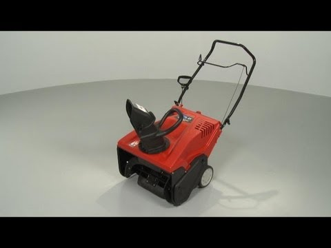 Troy-Bilt Snowblower Disassembly