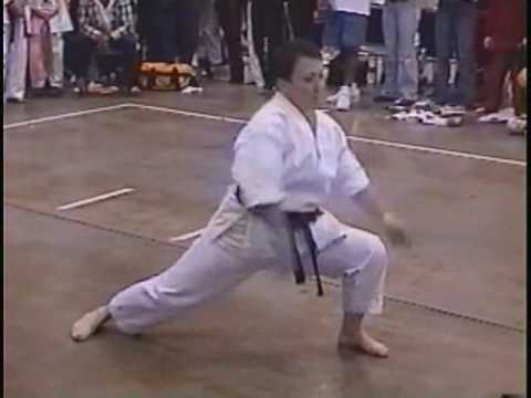DIVA GRIT KIMBER JOHNSON KARATE  FORM
