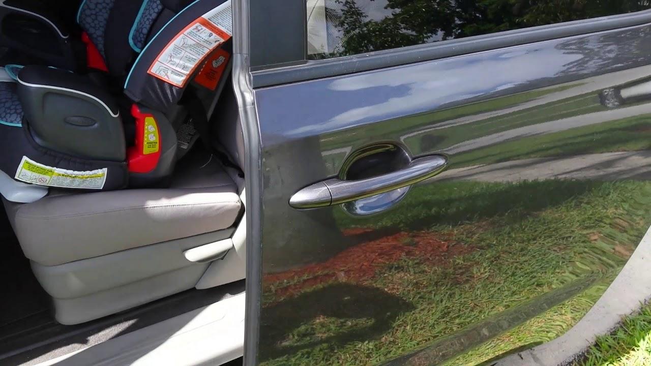 2016 Kia Sedona Sliding Door Issue Youtube