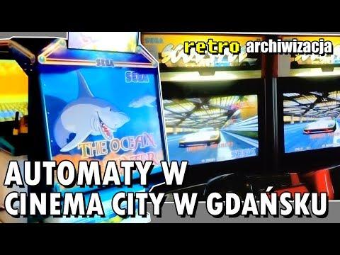 Automaty w Cinema City w Gdańsku: OutRun 2, Ocean Hunter, Scud Race | Retro archiwizacja odcinek 166