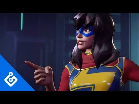 Exclusive Ms. Marvel Gameplay - Marvel Ultimate Alliance 3