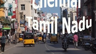Travel India. Arrival to Chennai