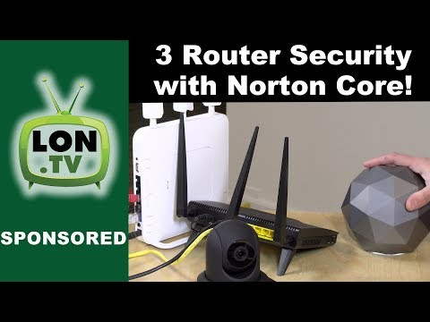 Three Router Security Featuring Norton Core: Segment & Secure Your Home Network!
