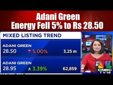 Adani Green Energy Fell 5% to Rs 28.50   Bazaar Corporate Radar (Part 2)   CNBC TV18