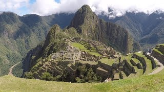 MACHU PICCHU DRONE AND GO PRO 4K